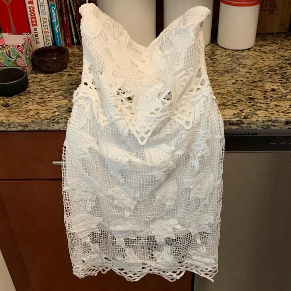 Charlotte Russe Dresses & Skirts - White strapless dress